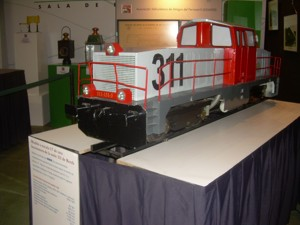 "ASVAFER's stand in the exhibition ""El Ferrocarril Punto de Encuentro"""